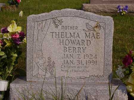 BERRY, THELMA MAE - Meigs County, Ohio | THELMA MAE BERRY - Ohio Gravestone Photos