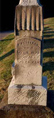 BESSERER, F. - Meigs County, Ohio   F. BESSERER - Ohio Gravestone Photos