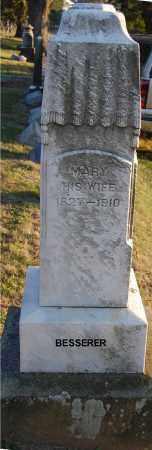 BESSERER, MARY - Meigs County, Ohio | MARY BESSERER - Ohio Gravestone Photos