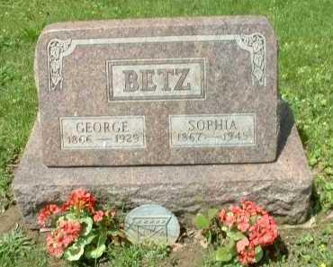 BETZ, SOPHIA - Meigs County, Ohio | SOPHIA BETZ - Ohio Gravestone Photos