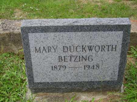 BETZING, MARY - Meigs County, Ohio | MARY BETZING - Ohio Gravestone Photos