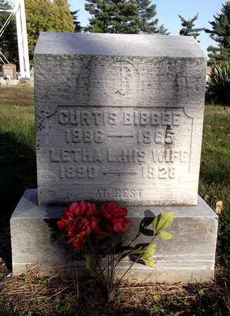 BIBBEE, LETHA L. - Meigs County, Ohio | LETHA L. BIBBEE - Ohio Gravestone Photos