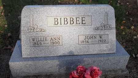 BIBBEE, WILLIE ANN - Meigs County, Ohio | WILLIE ANN BIBBEE - Ohio Gravestone Photos