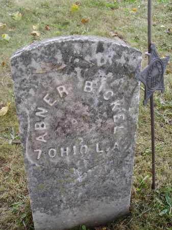 BICKEL, ABNER - Meigs County, Ohio | ABNER BICKEL - Ohio Gravestone Photos