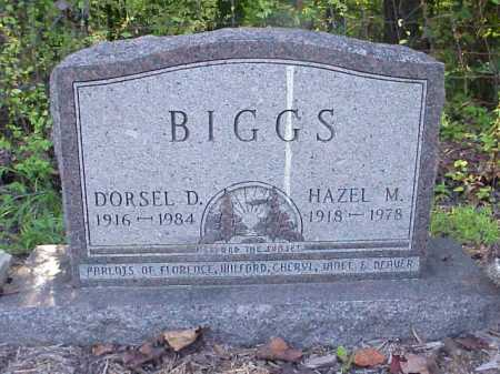 BIGGS, HAZEL M. - Meigs County, Ohio   HAZEL M. BIGGS - Ohio Gravestone Photos