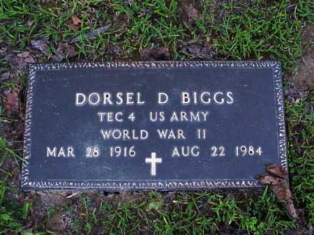 BIGGS, DORSEL - Meigs County, Ohio   DORSEL BIGGS - Ohio Gravestone Photos