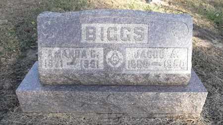 BIGGS, JACOB ABNER - Meigs County, Ohio | JACOB ABNER BIGGS - Ohio Gravestone Photos