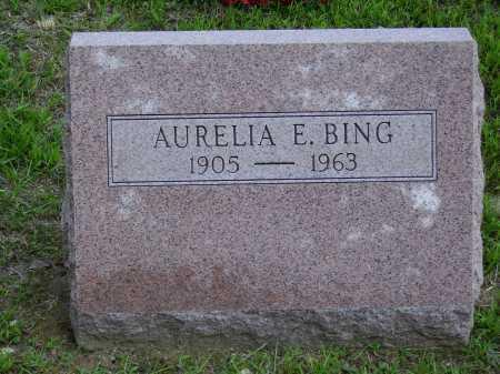 BING, AURELIA E. - Meigs County, Ohio   AURELIA E. BING - Ohio Gravestone Photos
