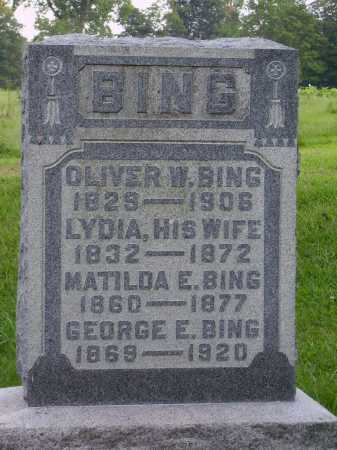 BING, MATILDA E. - Meigs County, Ohio | MATILDA E. BING - Ohio Gravestone Photos