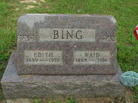 BING, WAID - Meigs County, Ohio | WAID BING - Ohio Gravestone Photos
