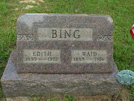 BING, EDITH - Meigs County, Ohio | EDITH BING - Ohio Gravestone Photos