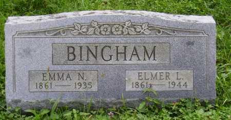 BINGHAM, EMMA N. - Meigs County, Ohio | EMMA N. BINGHAM - Ohio Gravestone Photos