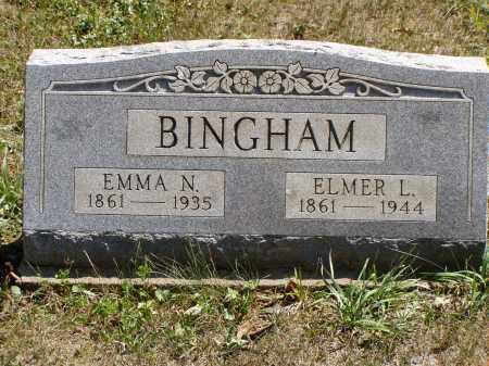 BINGHAM, ELMER L. - Meigs County, Ohio | ELMER L. BINGHAM - Ohio Gravestone Photos