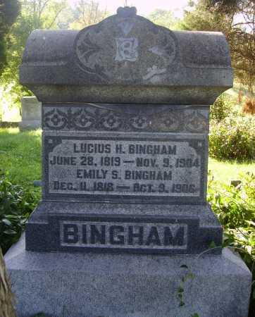 SIMPSON BINGHAM, EMILY S. - Meigs County, Ohio   EMILY S. SIMPSON BINGHAM - Ohio Gravestone Photos
