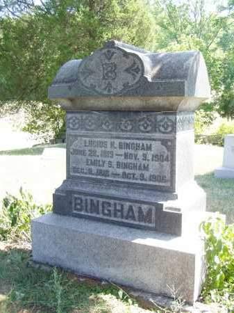 BINGHAM, LUCIUS H. - Meigs County, Ohio   LUCIUS H. BINGHAM - Ohio Gravestone Photos