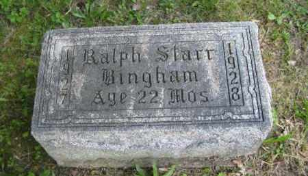 BINGHAM, RALPH STARR - Meigs County, Ohio   RALPH STARR BINGHAM - Ohio Gravestone Photos