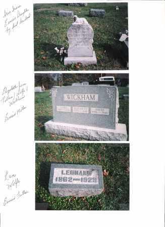 WICKHAM, EDITH - Meigs County, Ohio   EDITH WICKHAM - Ohio Gravestone Photos