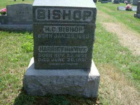 WILSON BISHOP, HARRIET - Meigs County, Ohio | HARRIET WILSON BISHOP - Ohio Gravestone Photos