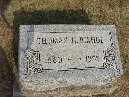 BISHOP, THOMAS H. - Meigs County, Ohio   THOMAS H. BISHOP - Ohio Gravestone Photos