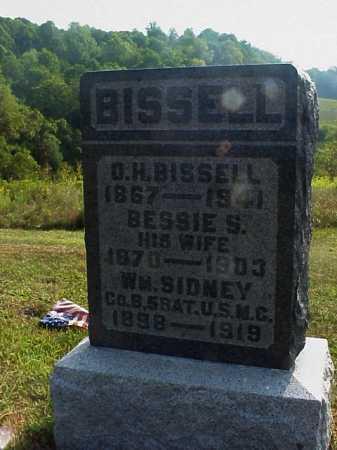BISSELL, WM. SIDNEY - Meigs County, Ohio   WM. SIDNEY BISSELL - Ohio Gravestone Photos