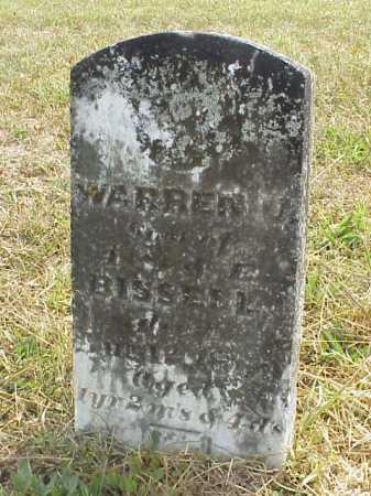 BISSELL, WARREN U. - Meigs County, Ohio | WARREN U. BISSELL - Ohio Gravestone Photos