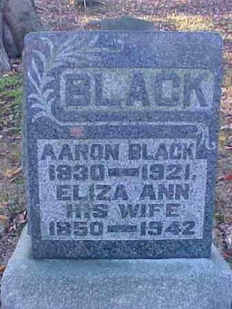 BLACK, ELIZA ANN - Meigs County, Ohio | ELIZA ANN BLACK - Ohio Gravestone Photos