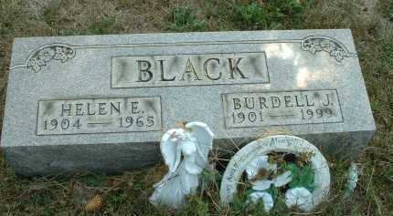 BLACK, HELEN E. - Meigs County, Ohio | HELEN E. BLACK - Ohio Gravestone Photos