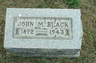 BLACK, JOHN M. - Meigs County, Ohio   JOHN M. BLACK - Ohio Gravestone Photos