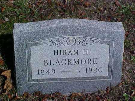 BLACKMORE, HIRAM HEATON - Meigs County, Ohio | HIRAM HEATON BLACKMORE - Ohio Gravestone Photos