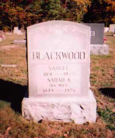 BLACKWOOD, SAMUEL - Meigs County, Ohio   SAMUEL BLACKWOOD - Ohio Gravestone Photos
