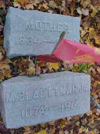 BLAETTNAR, M., JR. - Meigs County, Ohio | M., JR. BLAETTNAR - Ohio Gravestone Photos