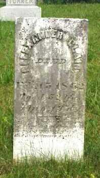 BLAIR, ALEXANDER M. - Meigs County, Ohio | ALEXANDER M. BLAIR - Ohio Gravestone Photos