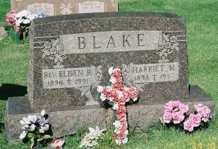 BLAKE, REV. EDLEN R. - Meigs County, Ohio | REV. EDLEN R. BLAKE - Ohio Gravestone Photos