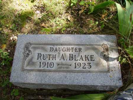 BLAKE, RUTH A. - Meigs County, Ohio | RUTH A. BLAKE - Ohio Gravestone Photos