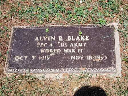BLAKE, ALVIN R. - Meigs County, Ohio   ALVIN R. BLAKE - Ohio Gravestone Photos