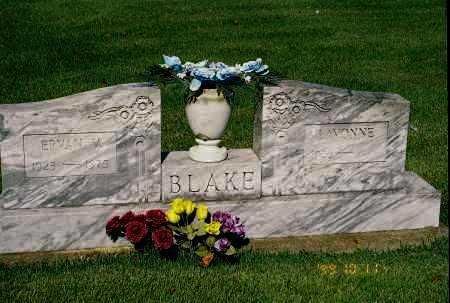 BLAKE, LAVONNE - Meigs County, Ohio | LAVONNE BLAKE - Ohio Gravestone Photos