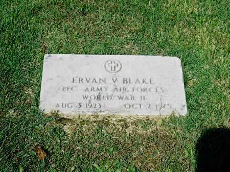 BLAKE, ERVAN V. - Meigs County, Ohio | ERVAN V. BLAKE - Ohio Gravestone Photos