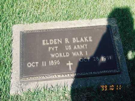 BLAKE, EDEN R. - Meigs County, Ohio   EDEN R. BLAKE - Ohio Gravestone Photos