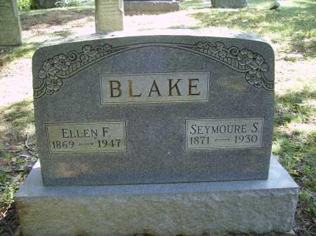 JONES BLAKE, ELLEN FRANCES - Meigs County, Ohio | ELLEN FRANCES JONES BLAKE - Ohio Gravestone Photos