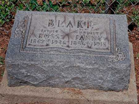 BLAKE, ROSS - Meigs County, Ohio | ROSS BLAKE - Ohio Gravestone Photos