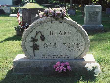 BLAKE, SONIA LEE - Meigs County, Ohio | SONIA LEE BLAKE - Ohio Gravestone Photos