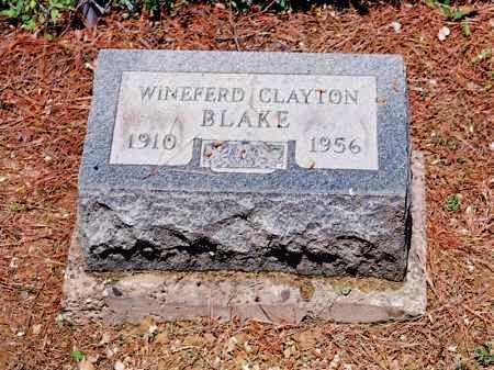 BLAKE, WINEFERD CLAYTON - Meigs County, Ohio   WINEFERD CLAYTON BLAKE - Ohio Gravestone Photos