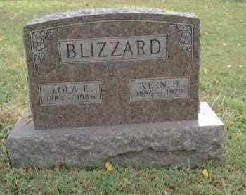 FRENCH BLIZZARD, LOLA EDITH - Meigs County, Ohio | LOLA EDITH FRENCH BLIZZARD - Ohio Gravestone Photos