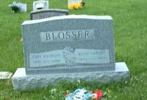 BLOSSER, RUTH GARNET - Meigs County, Ohio | RUTH GARNET BLOSSER - Ohio Gravestone Photos