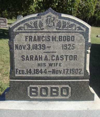 BOBO, FRANCIS MARION - Meigs County, Ohio | FRANCIS MARION BOBO - Ohio Gravestone Photos