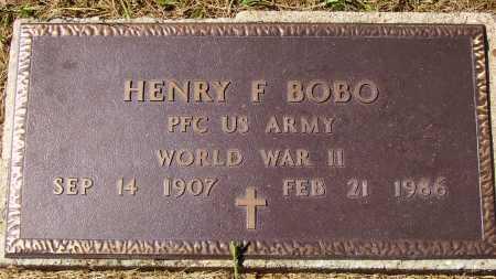 BOBO, HENRY F. - Meigs County, Ohio | HENRY F. BOBO - Ohio Gravestone Photos