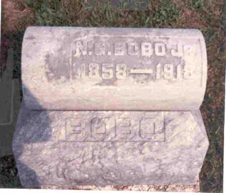 BOBO JR., N.G. - Meigs County, Ohio | N.G. BOBO JR. - Ohio Gravestone Photos