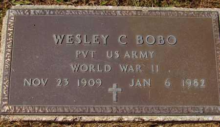 BOBO, WESLEY C. - MILITARY - Meigs County, Ohio | WESLEY C. - MILITARY BOBO - Ohio Gravestone Photos