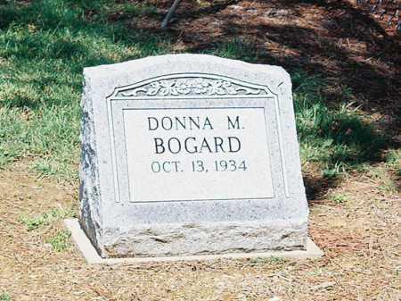 BOGARD, DONNA M. - Meigs County, Ohio | DONNA M. BOGARD - Ohio Gravestone Photos
