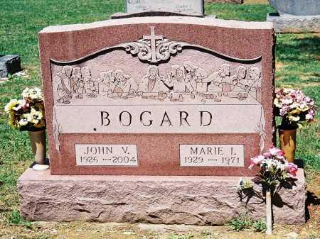 BOGARD, JOHN V. - Meigs County, Ohio | JOHN V. BOGARD - Ohio Gravestone Photos